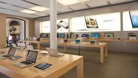 Apple rediseña sus tiendas