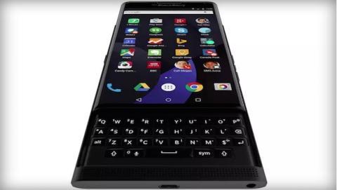 Un gif del nuevo BlackBerry Venice con Android