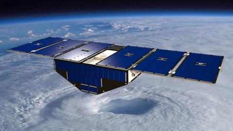 Un satélite de la NASA que conocerá las trayectorias de huracanes