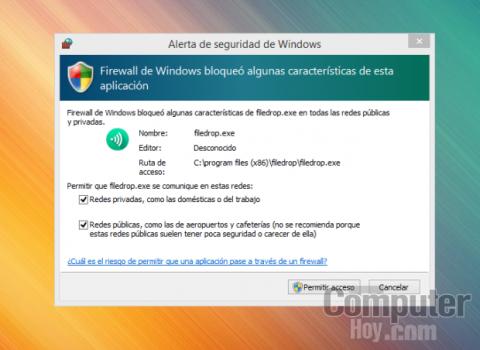 Instala FileDrop en tu ordenador