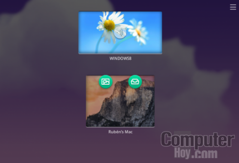 Envía archivos a tu ordenador con FileDrop