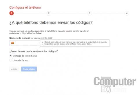 Mejora la seguridad de Gmail