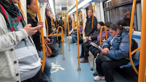 metro madrid 4g