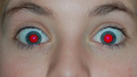 alucinaciones mirar ojos