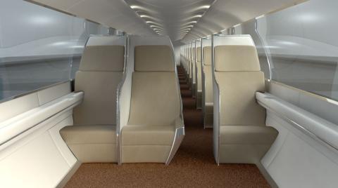 Interior de la cabina (concepto)