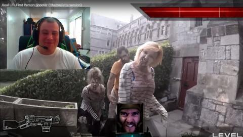 El primer shooter de zombis con personas reales (vídeo).
