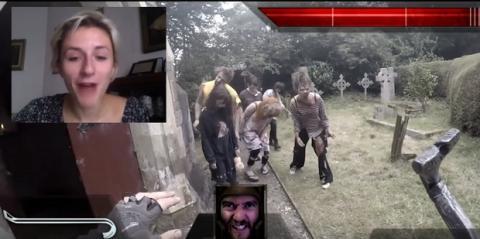 FPS shooter survival horror de zombis con personas y escenarios reales