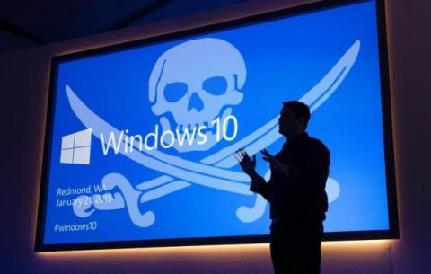 windows 10 pirateria