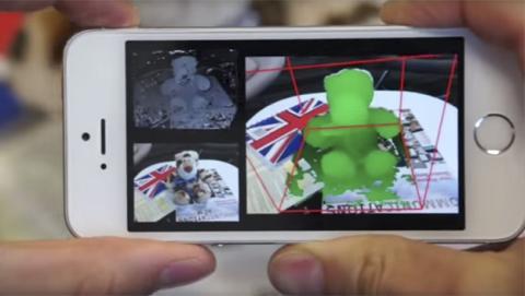 Una app de Microsoft convierte el móvil en un escáner 3D