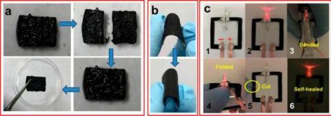 Crean un circuito eléctrico que se puede reparar a sí mismo