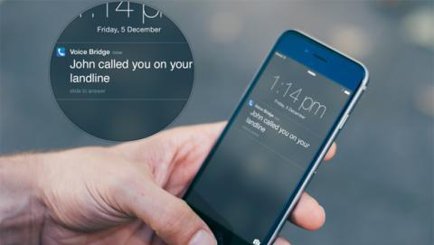 Gestiona tu línea de teléfono fijo a través del smartphone