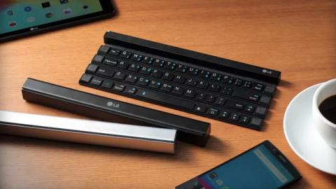LG Rolly teclado inalámbrico plegable para móvil y tablet