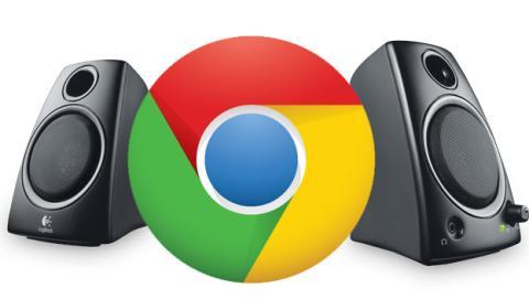 google chrome pestañas sonido