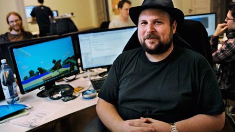 Markus, de Minecraft, se siente solo
