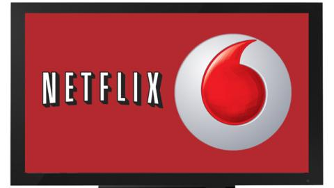 Netflix y Vodafone