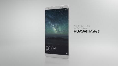 Huawei Mate S, un phablet con pantalla 2.5D y diseño de altura.