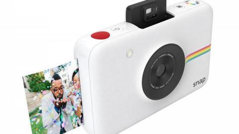 Nueva cámara Polaroid Snap imprime fotos sin tinta ni rollo