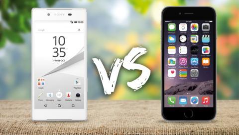 Sony Xperia Z5 vs iPhone 6 comparativa caracteristicas precio comprar