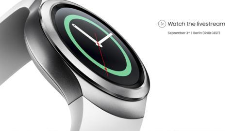 Samsung Gear S2 en IFA 2015