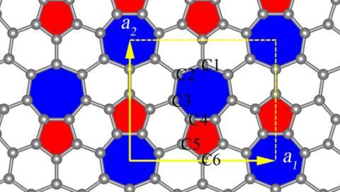 Descubren el fagrafeno, un material pariente del grafeno