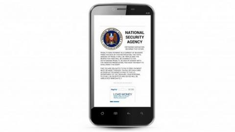 Nuevo ransomware secuestra tu móvil Android en nombre de la NSA