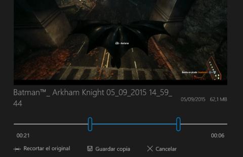 Cómo grabar vídeos de juegos y programas en Windows 10