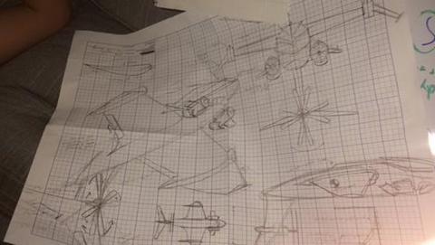 diseña avión borracho