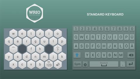Wrio, el teclado para escribir más rápido con tu móvil