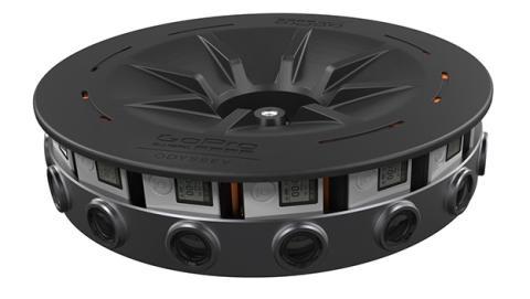 Odyssey, la espectacular cámara de realidad virtual de GoPro