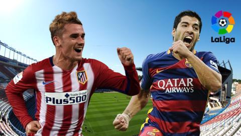 Cómo ver online y en directo el Atlético de Madrid vs Barcelona