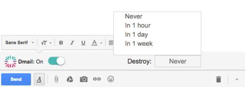 Cómo borrar un correo ya enviado y mandar emails autodestruibles