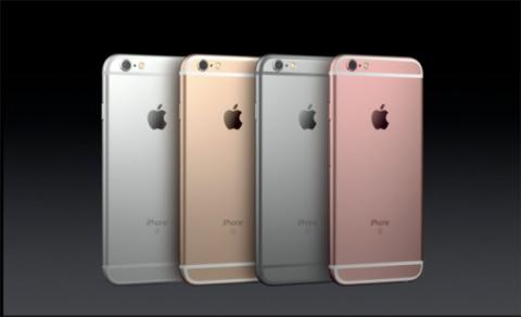 Colores iPhone 6S