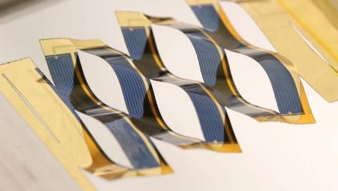Células solares que siguen al sol para obtener más energía