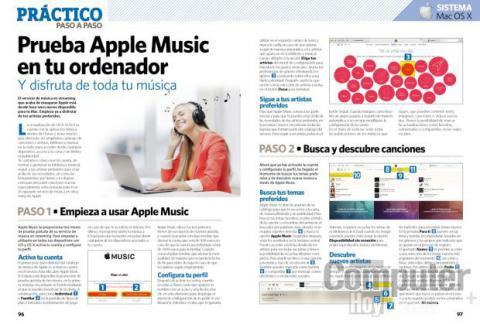 Prueba Apple Music en tu ordenador