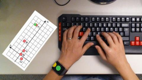 Los sensores del smartwatch revelan las contraseñas que tecleas