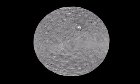 Ceres y sus manchas blancas