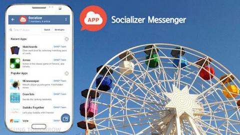 Socializer Messenger WhatsApp Samsung