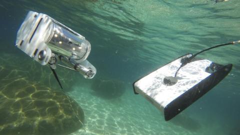 Trident, un dron acuático para explorar el fondo del océano