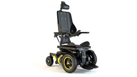 Diseñan una silla de ruedas inteligente y conectada