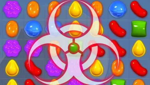 Un potente malware troyano infecta Candy Crush en Google Play