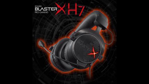 Los Sound BlasterX H7 ofrecen sonido envolvente 7.1 profesional