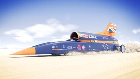 Así es Bloodhound, el coche supersónico más rápido del mundo