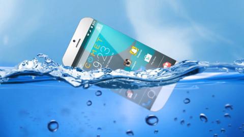 Comet, el primer teléfono móvil que flota en el agua