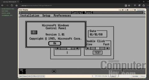 Emulador Windows 1.0 en el navegador