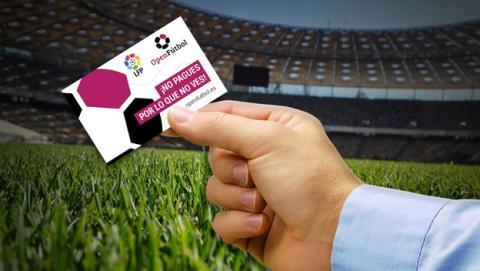 Open Fútbol: partidos de Liga o Copa a la carta por 4,99 €