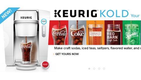 Ya puedes fabricar auténtica Coca Cola en tu casa con Keurig Kold