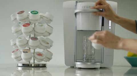 Keirug Kold, prepara Coca Cola en casa