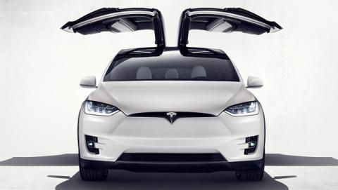 Tesla Model X presentado oficialmente