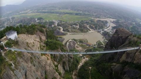 puente cristal China más aterrador mundo
