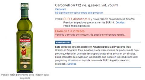 Amazon demora entrega
